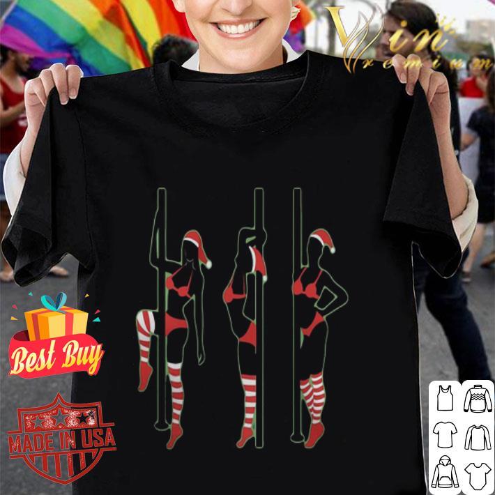 - Elves Pole Dancing Christmas shirt