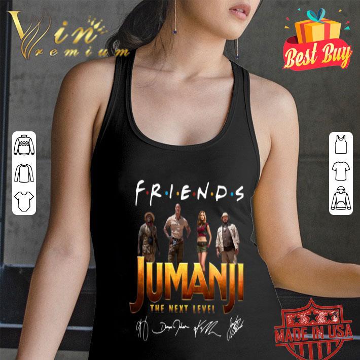 - Friends Jumanji The Next Level Signatures shirt