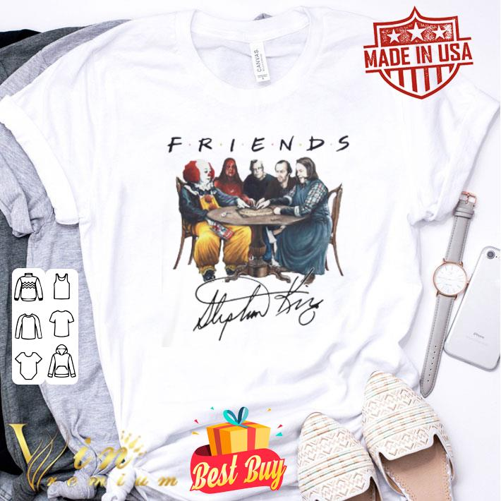 - Friends Pennywise Carrie Stephen King The Shining Misery shirt