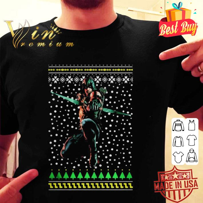 Green Arrow Ugly Christmas sweater