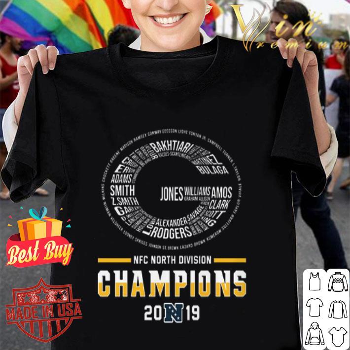 - Green Bay Packers Logo NFC North Division Champions 2019 shirt