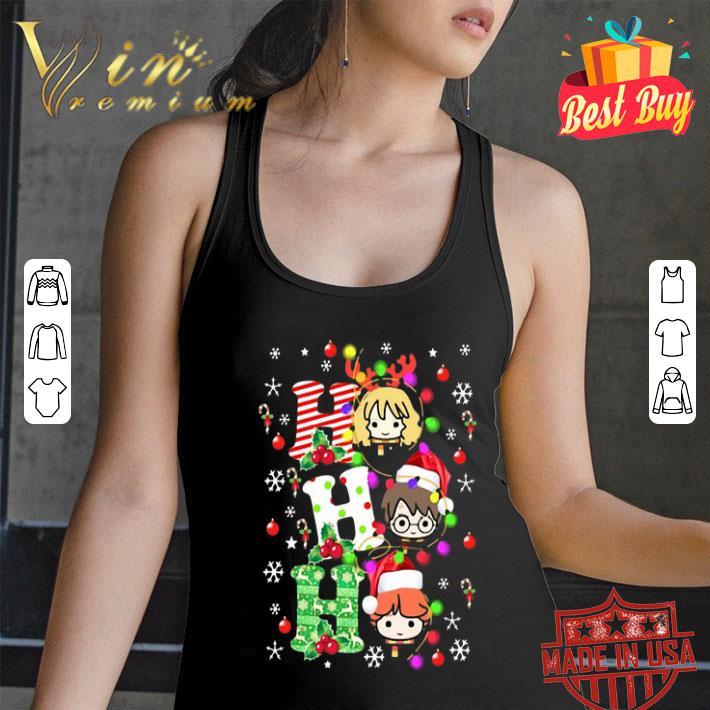 Harry Potter Ho Ho Ho Christmas Light shirt