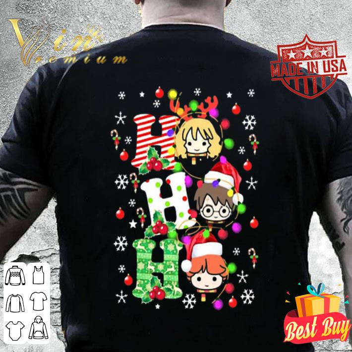 Harry Potter Ho Ho Ho Christmas Light shirt