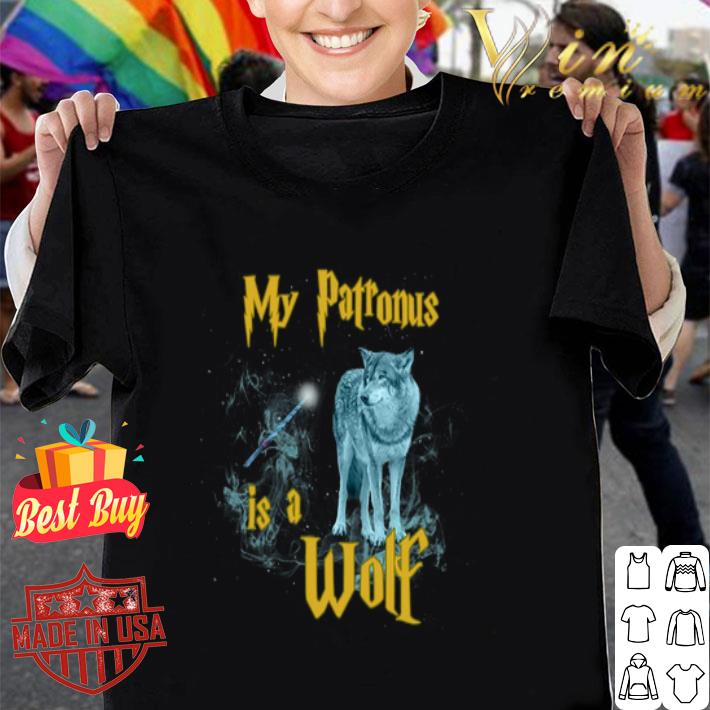 - Harry Potter My Patronus Is A Wolf shirt