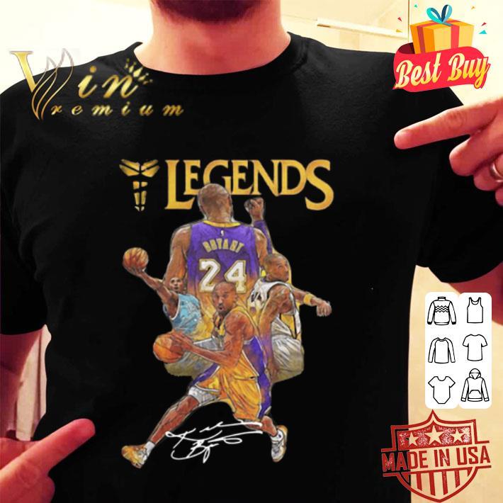 - Legends Kobe Bryant signature shirt