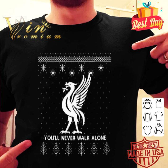 - Liverpool FC You'll Never Walk Alone Ugly Christmas shirt