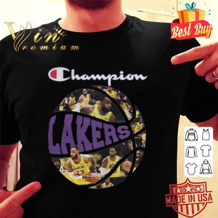 - Los Angeles Lakers Champion players shirt