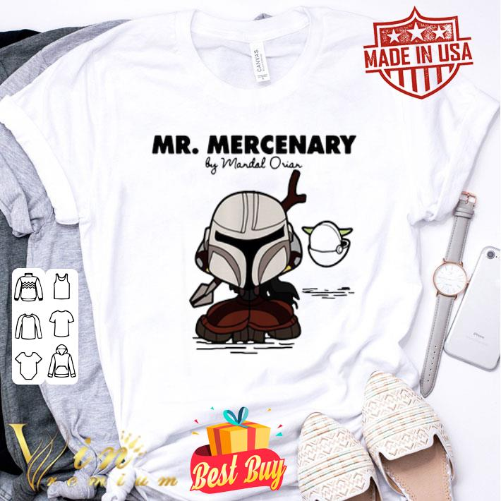 - Mandalorian Mr Mercenary shirt