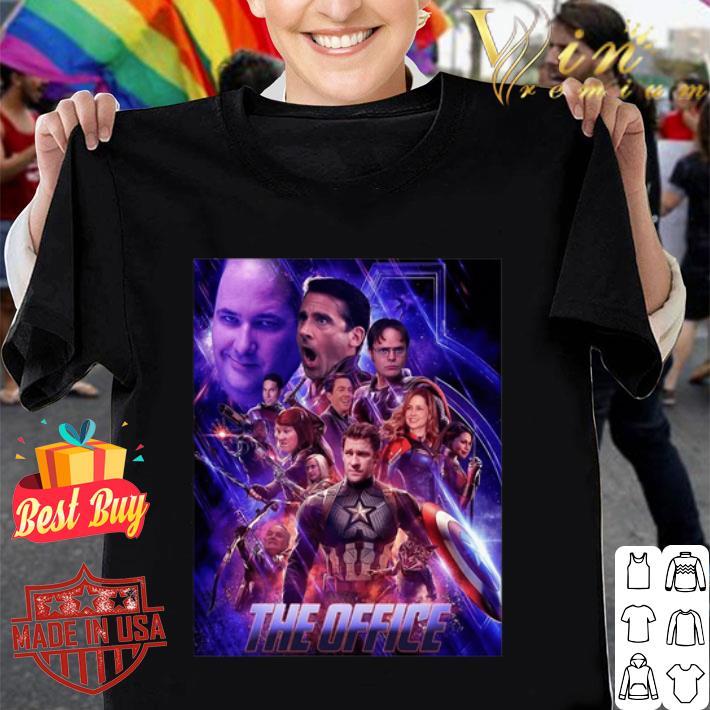 - Marvel The Office Avengers Endgame shirt