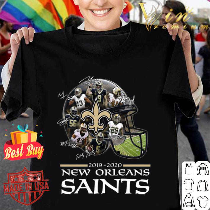 - New Orleans Saints 2019 2020 players all signature shirt
