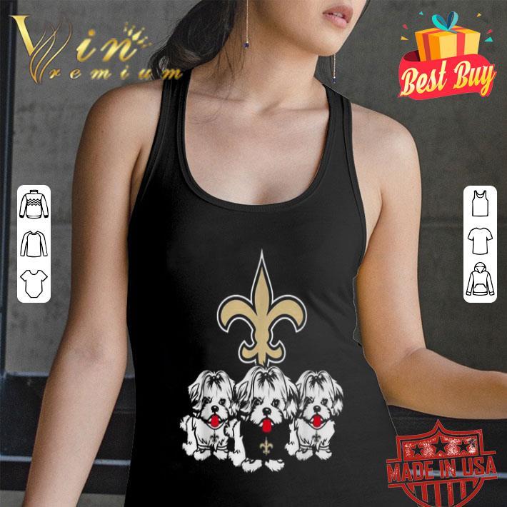- New Orleans Saints Shih Tzu shirt