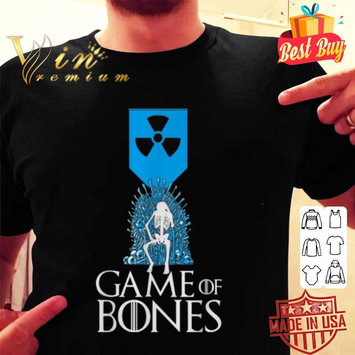 - Nuclear weapon logo Game of Bones shirt
