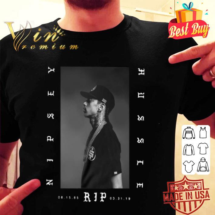Rip Nipsey Hussle Crenshaw Ermias Joseph Asghedom shirt