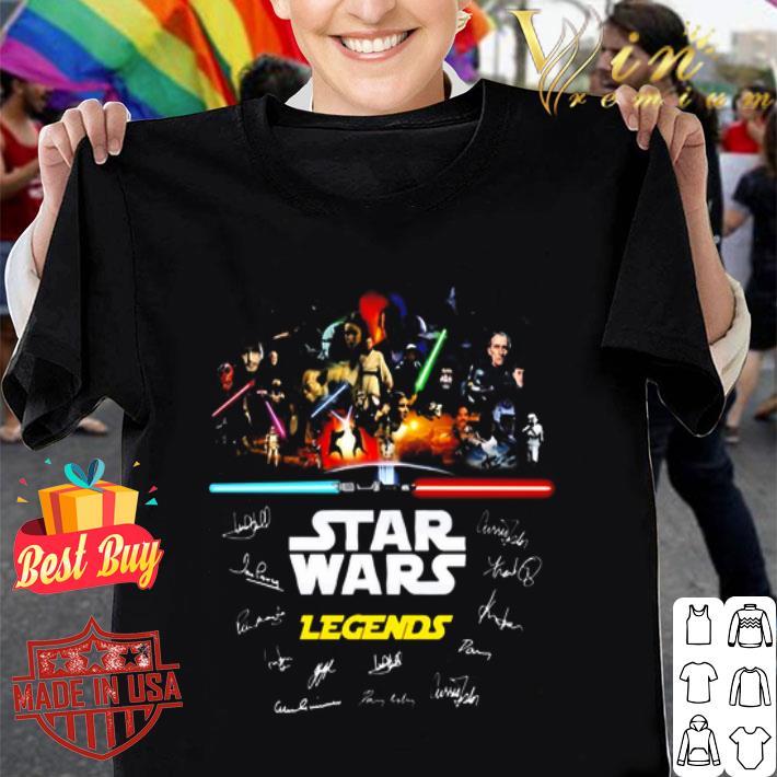 - Star Wars Legends all signature shirt