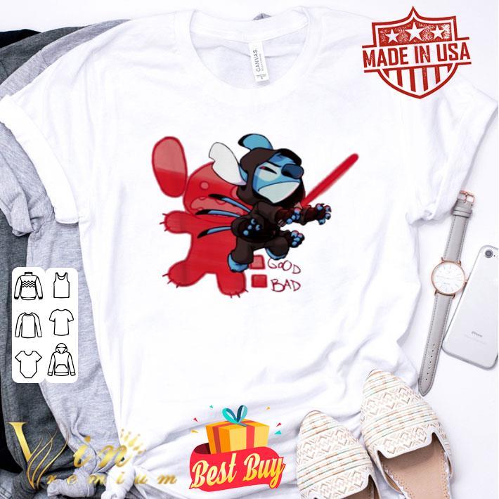 - Stitch Sith Lord good bad Star Wars shirt