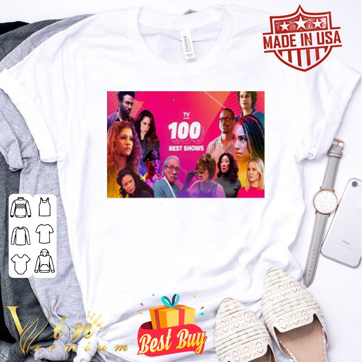 - The 100 Best TV Shows shirt