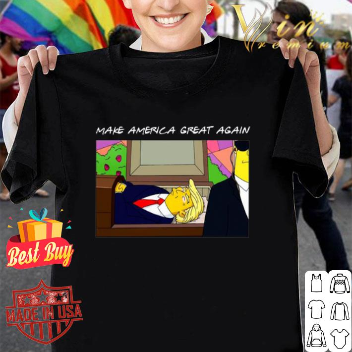 - Trump Simpsons Make America Great Again shirt
