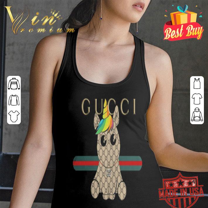 Unicorn Gucci Logo shirt