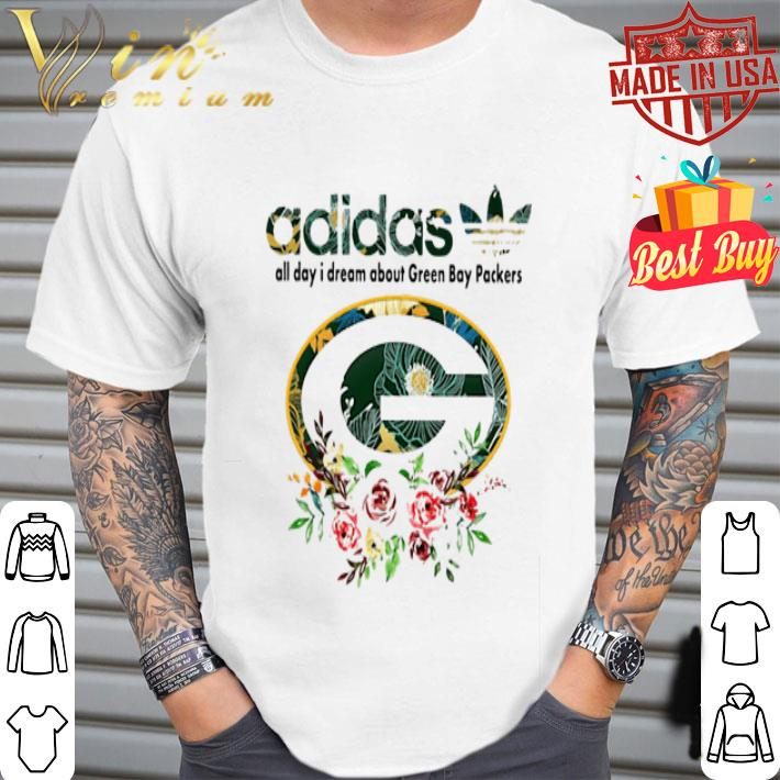 - adidas all day i dream about Green Bay Packers shirt
