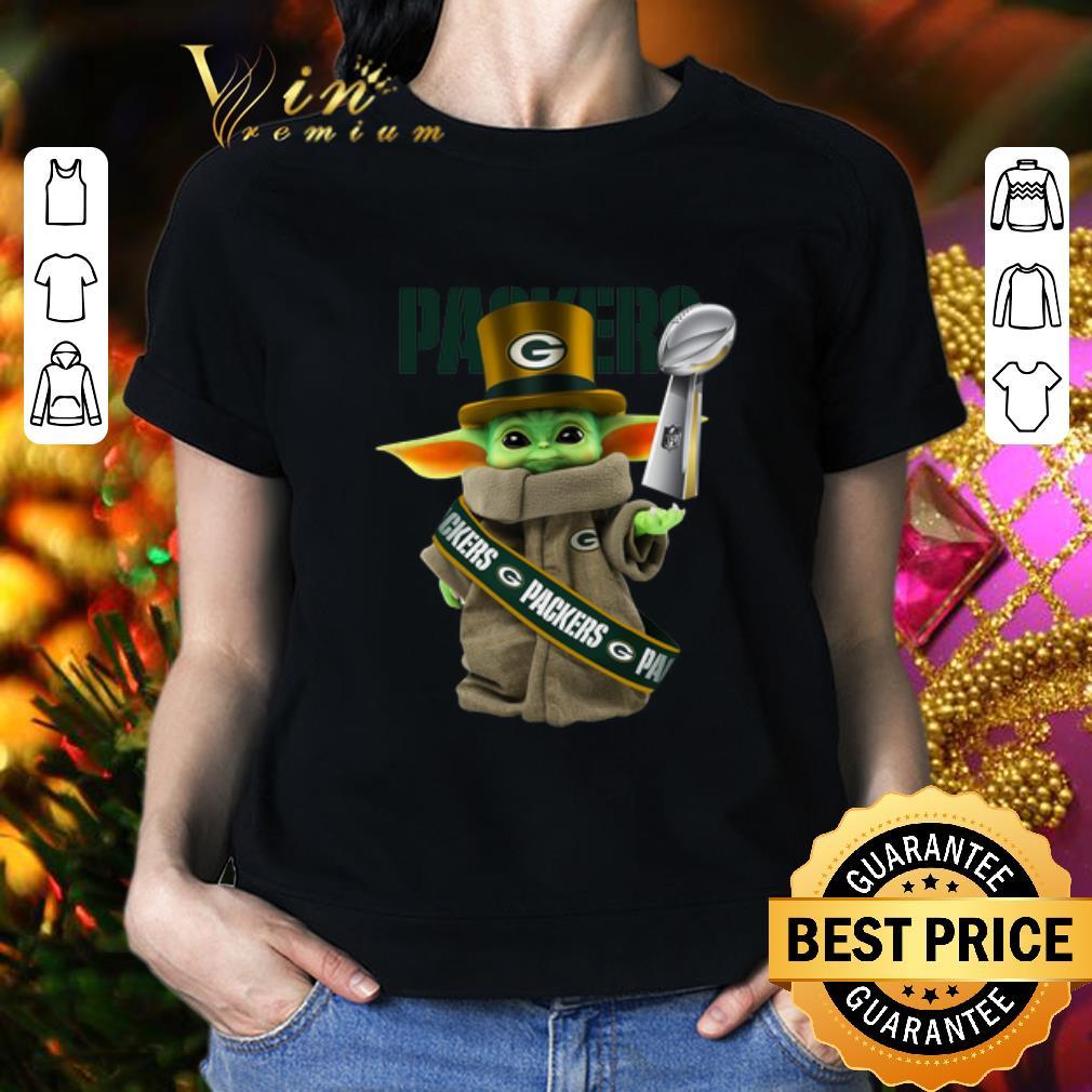 - Baby Yoda Green Bay Packers Super Bowl LIV Star Wars shirt