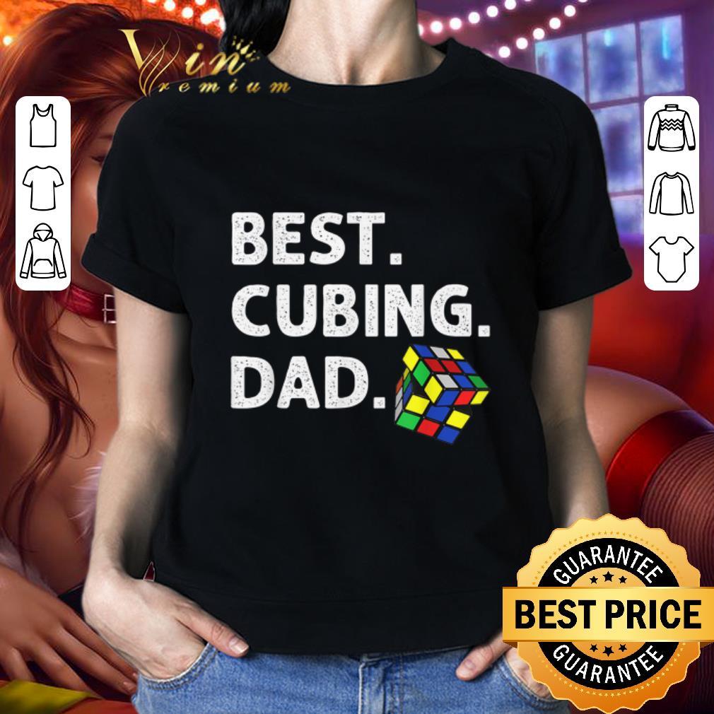 - Best Cubing Dad Puzzle shirt