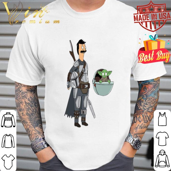 - Bob Fett The Mandalorian Mashup Bob's Burgers shirt