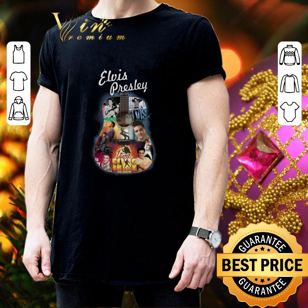 - Elvis Presley Guitar King Rock And Roll shirt