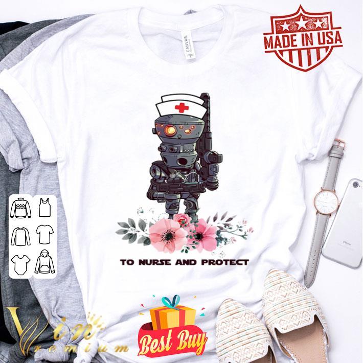 Flowers IG-11 To Nurse And Protect Star Wars Mandalorian shirt