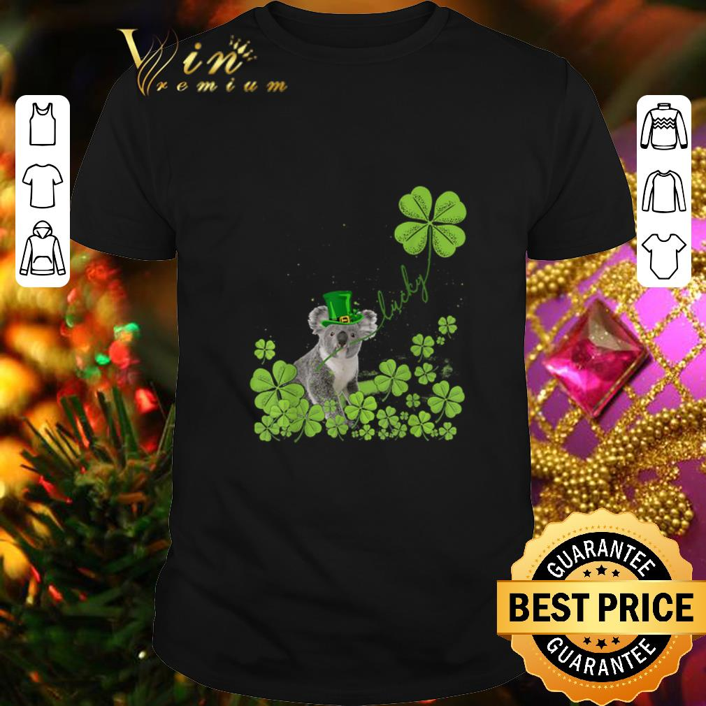 - Koala lucky St. Patrick's day Australian bushfires shirt