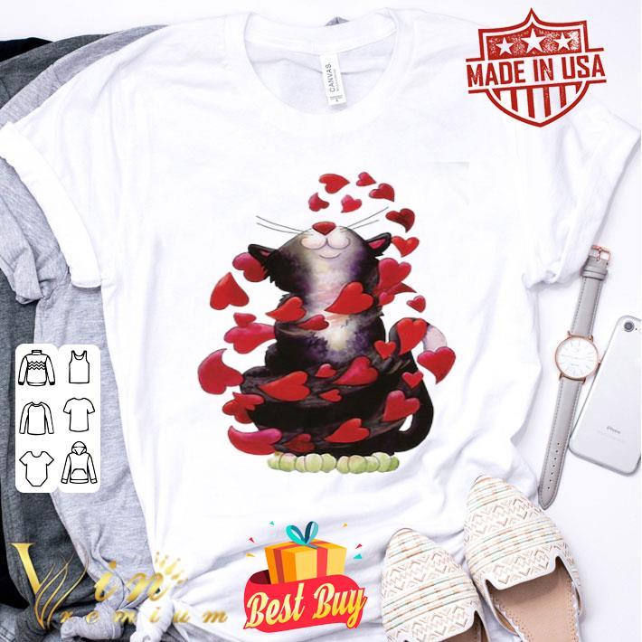 - Love Cat Happy Valentine Day shirt