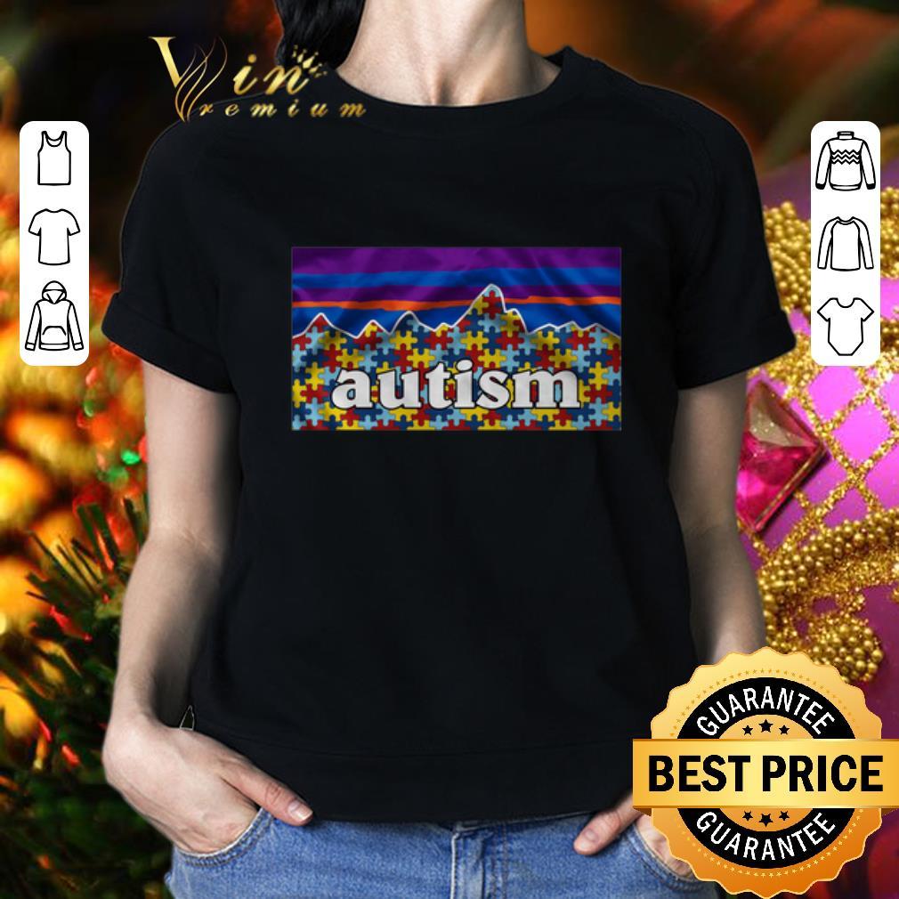 - Patagonia Logo Autism Awareness shirt