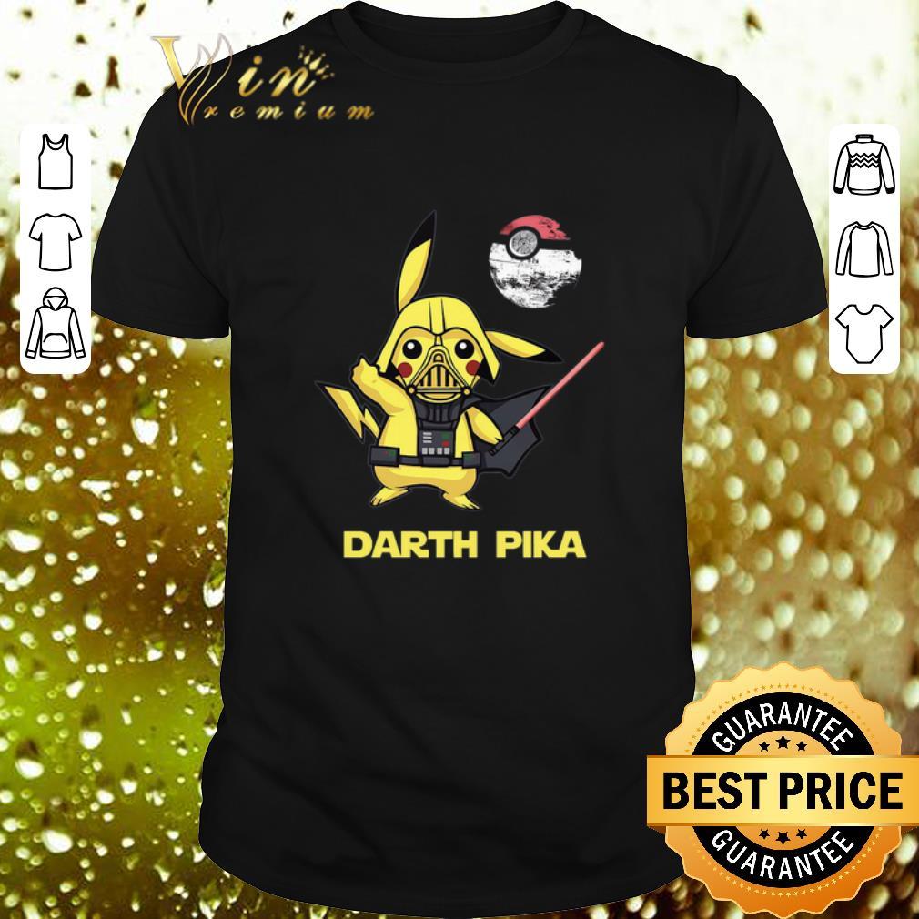 - Pikachu Darth Pika Death Star Wars Darth Vader shirt