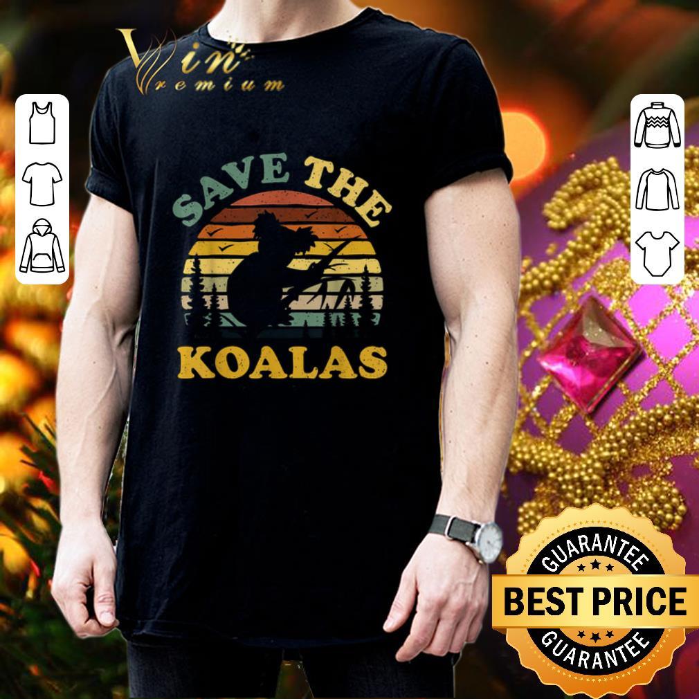 - Save the Koalas vintage Australian bushfires shirt