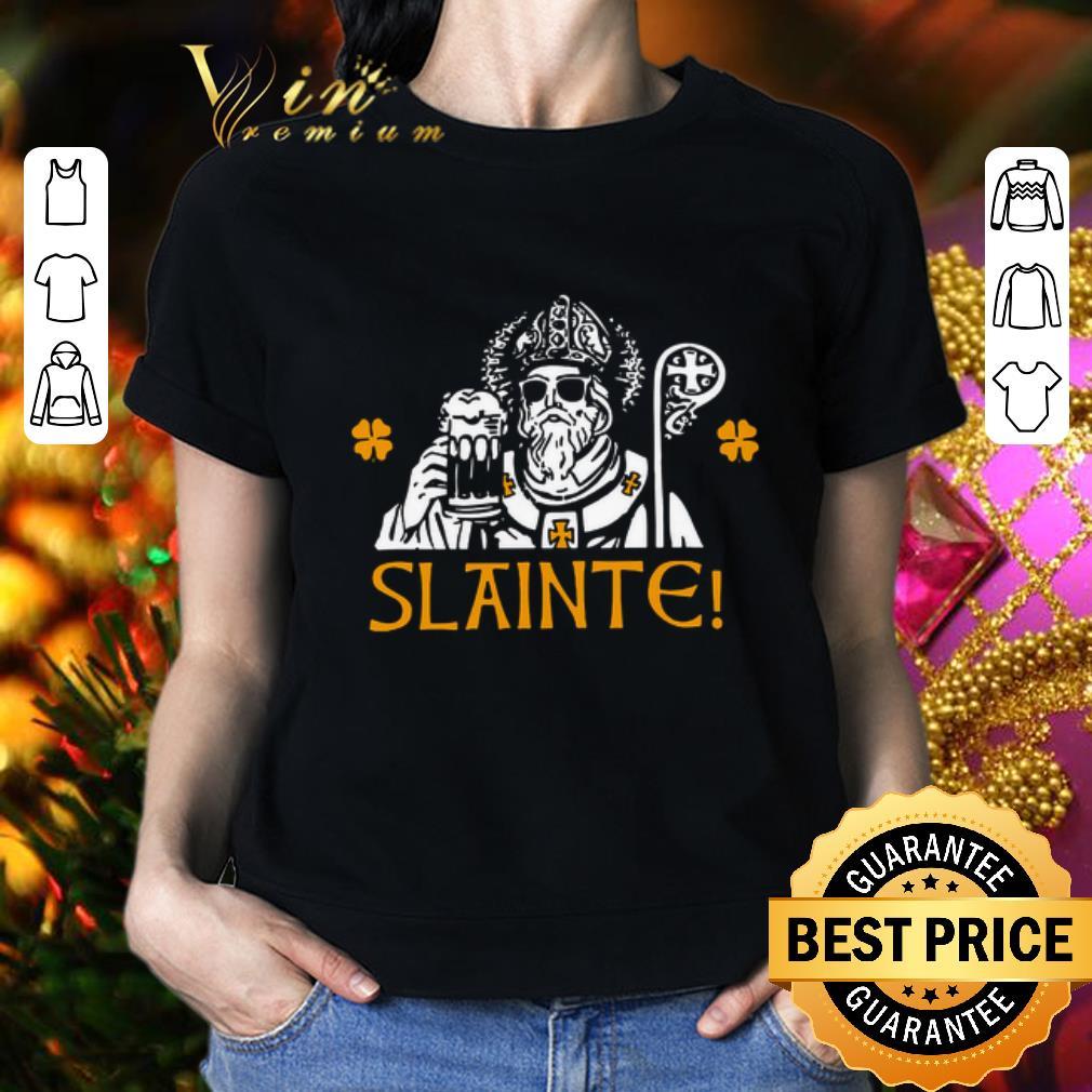 - Slainte St. Patrick's Day shirt