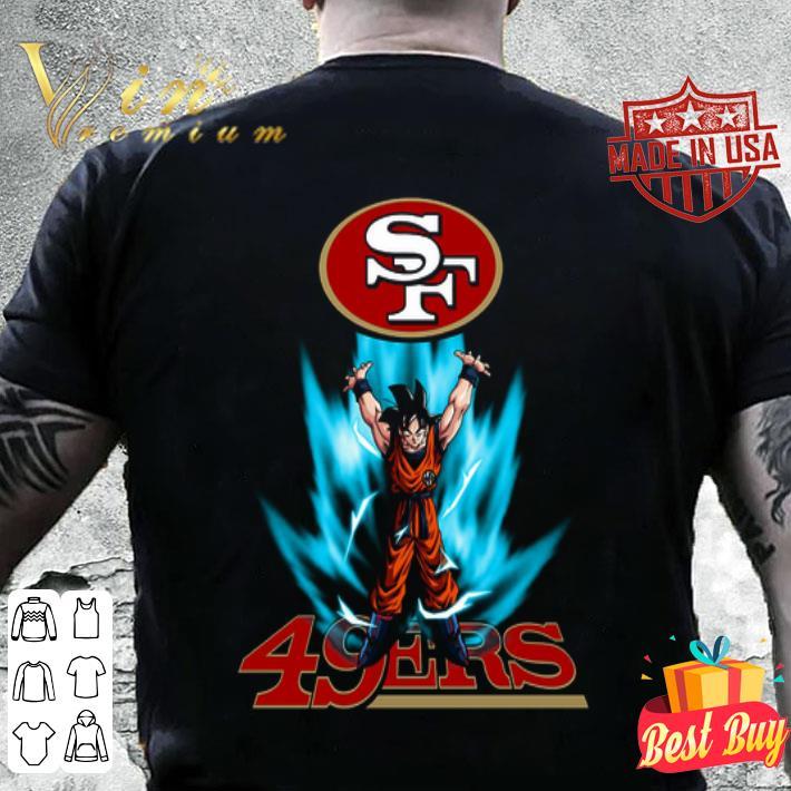 Son Goku San Francisco 49ers Logo Dragon Ball Z shirt