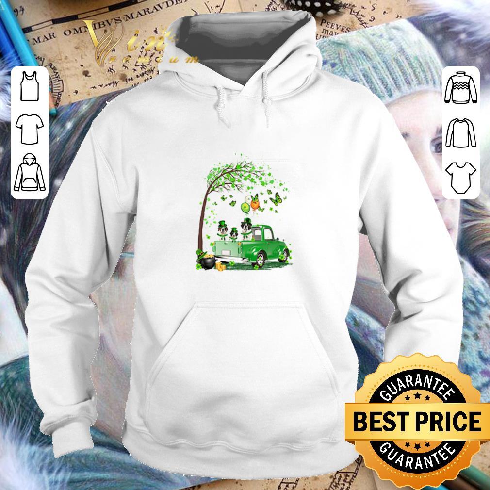 - St Bernard dog Truck St Patrick's Day shirt