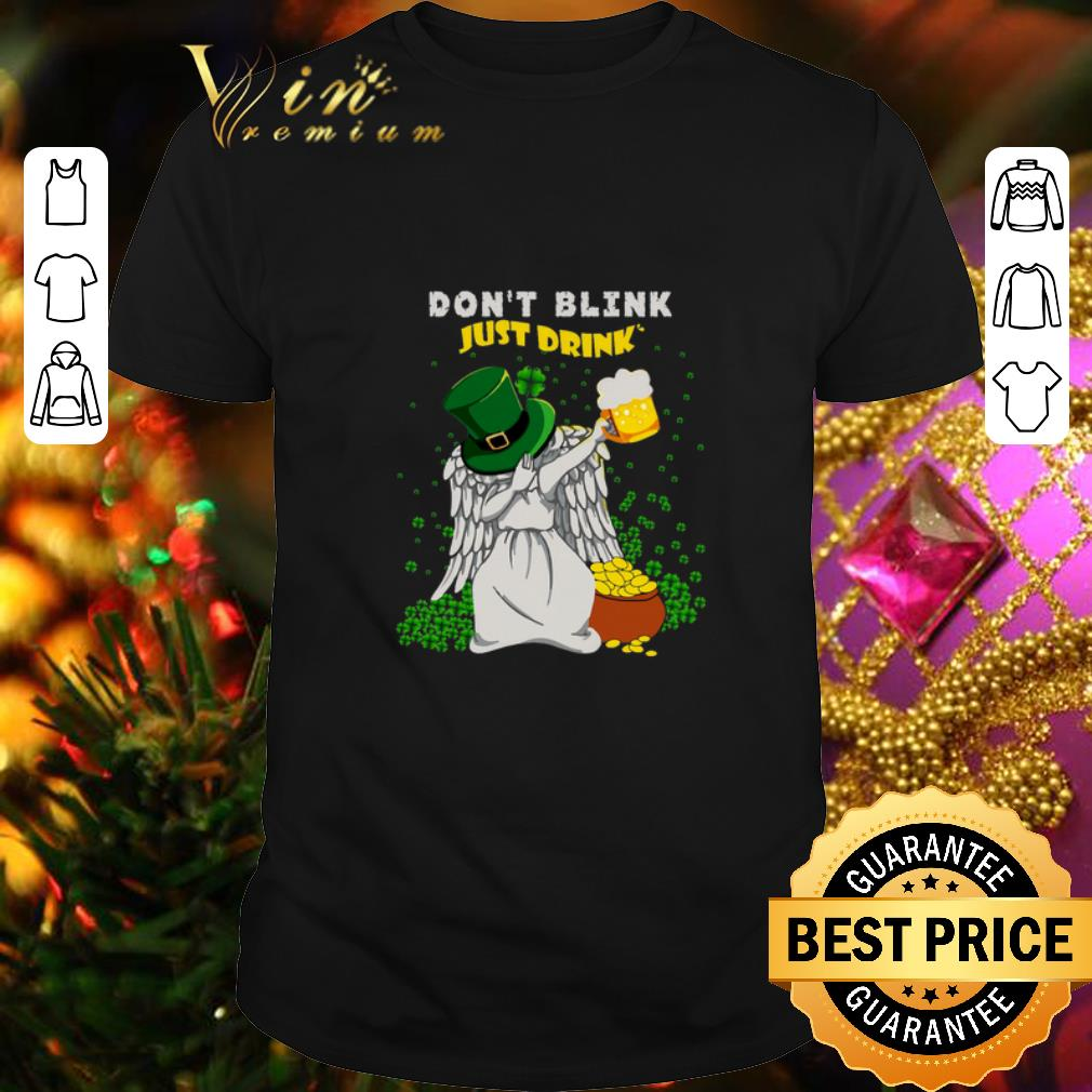 - St Patrick's Day Don't Blink Just Drink Doctor Brew shirt