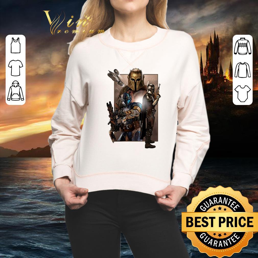 - Star Wars The Mandalorian characters shirt