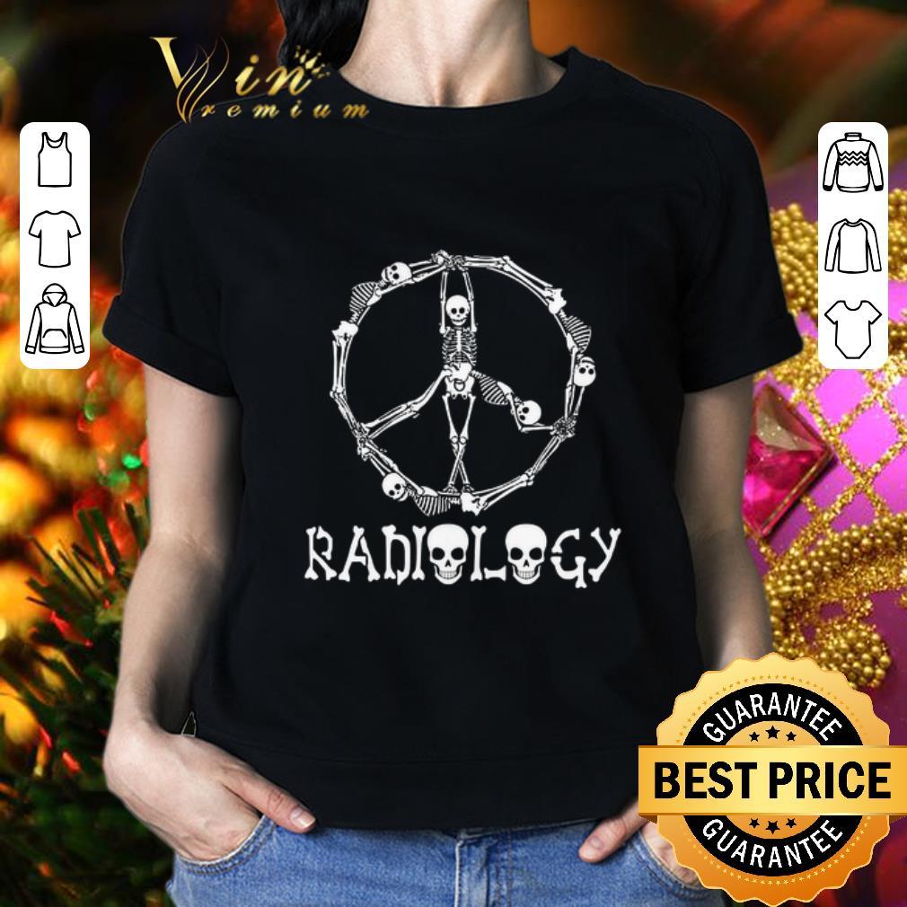 - Symbol Radiology Circle Skeleton shirt