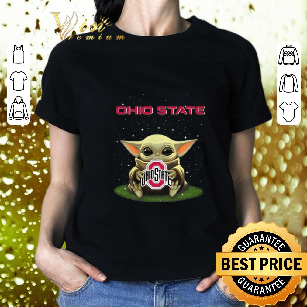 - The Child Baby Yoda hug Ohio State Buckeyes Star Wars shirt