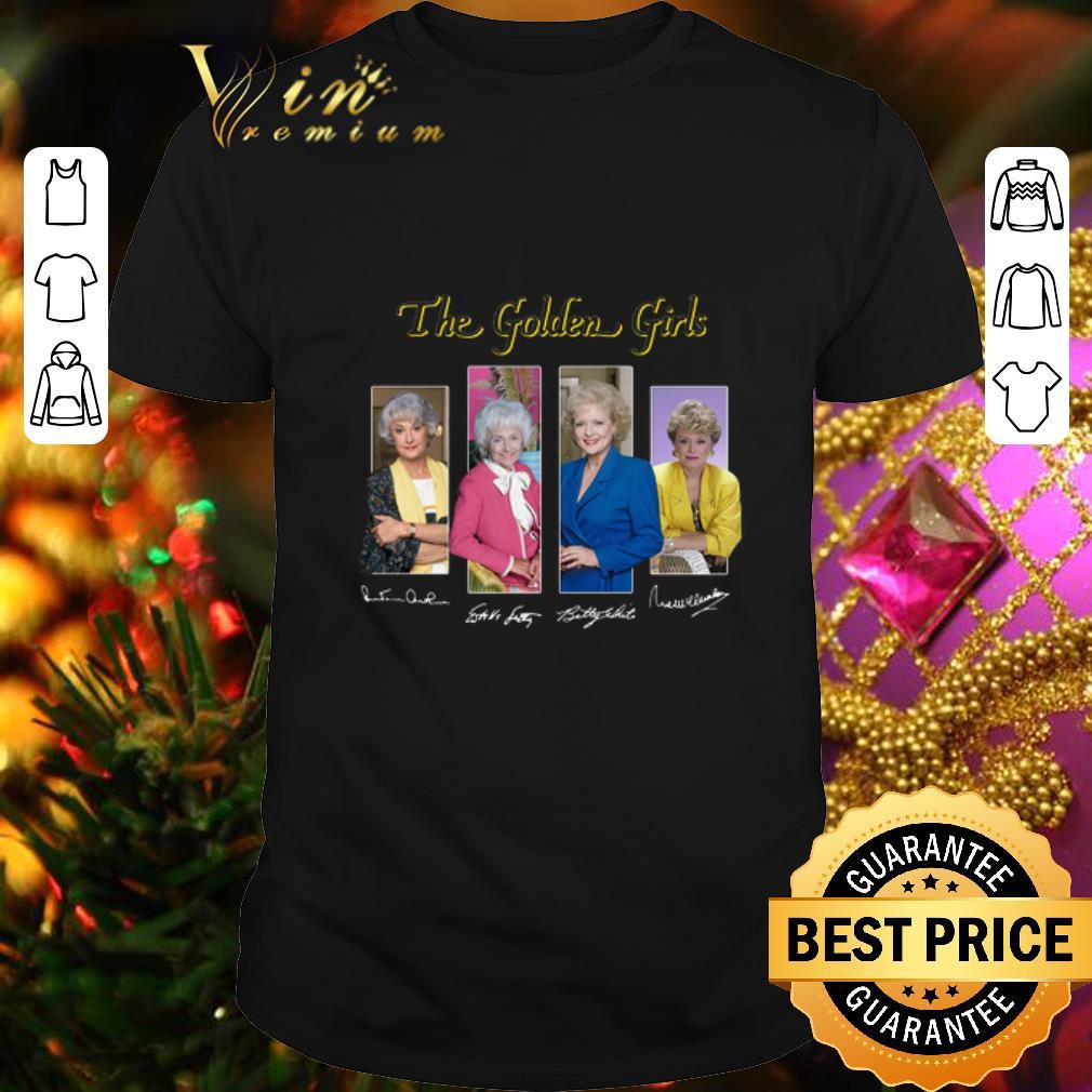 - The Golden Girls TV Series 1985 1992 signatures shirt