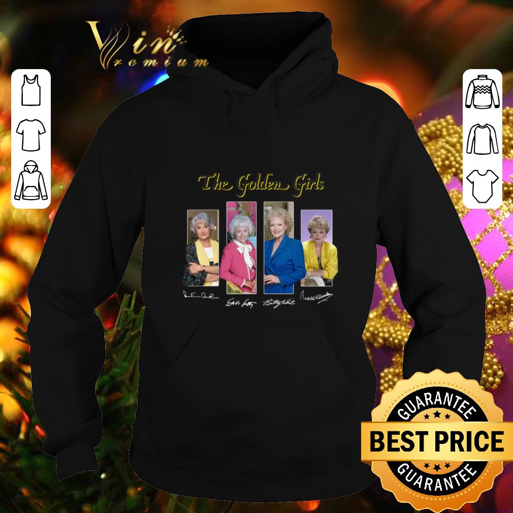 The Golden Girls TV Series 1985 1992 signatures shirt