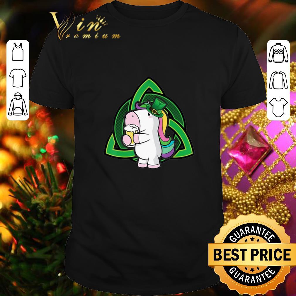 - Unicorn drink Beer Saint Patrick's Day shirt