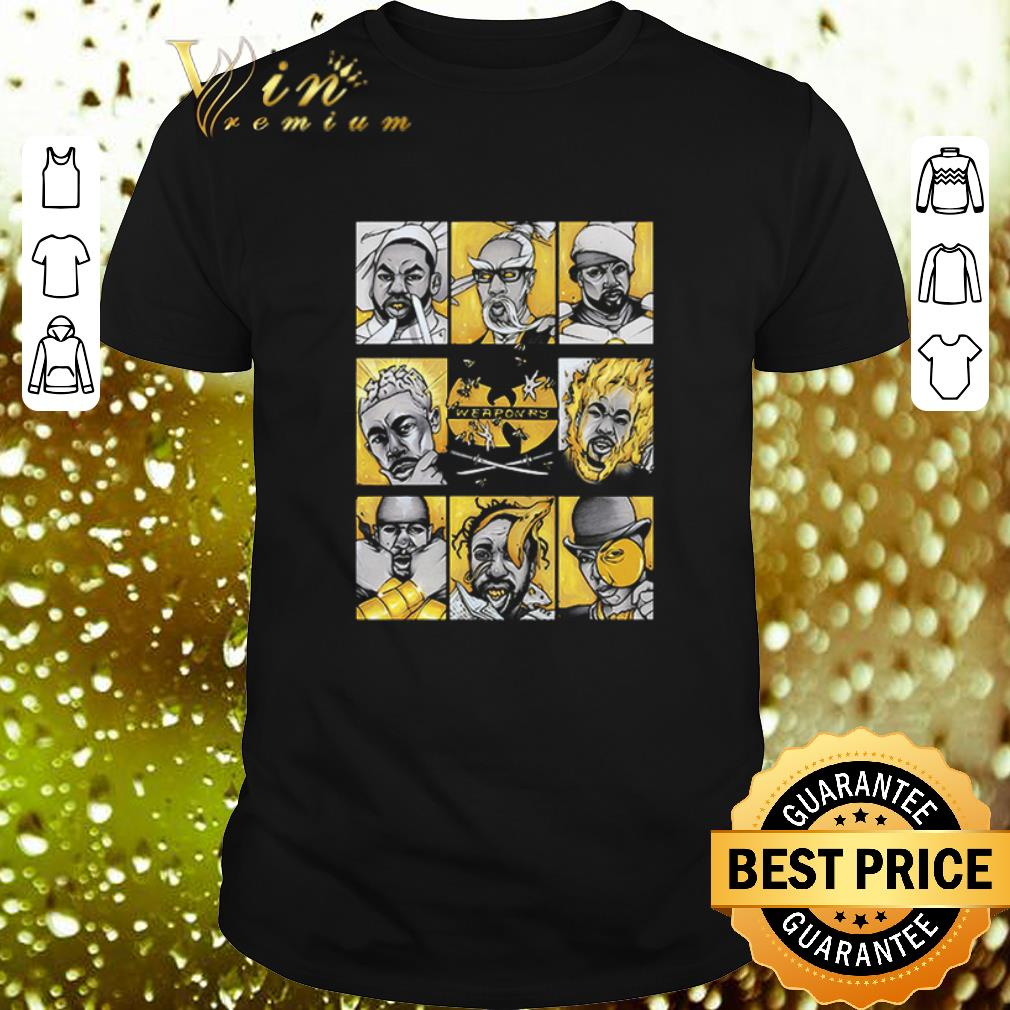 - Wu-Tang Clan Mashup Weaponry shirt