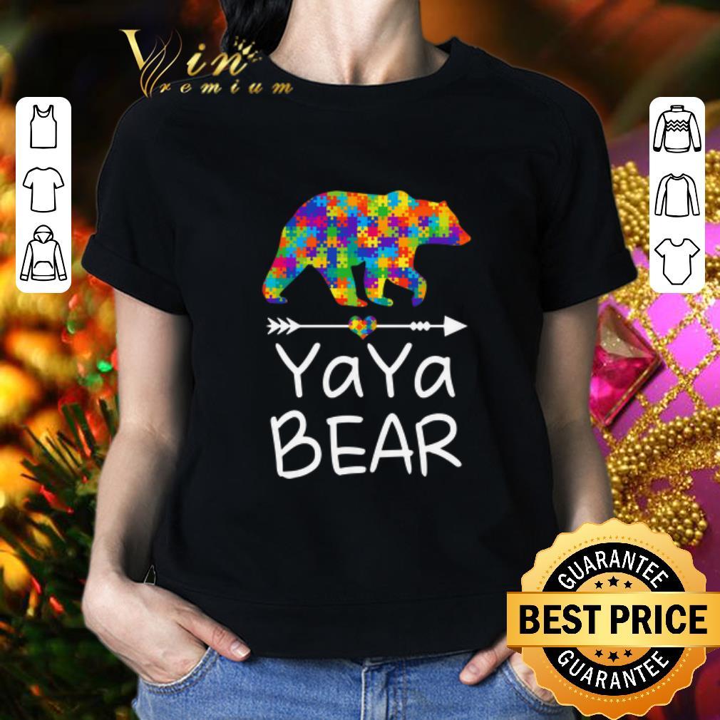 YaYa Bear Autism Awareness shirt 2