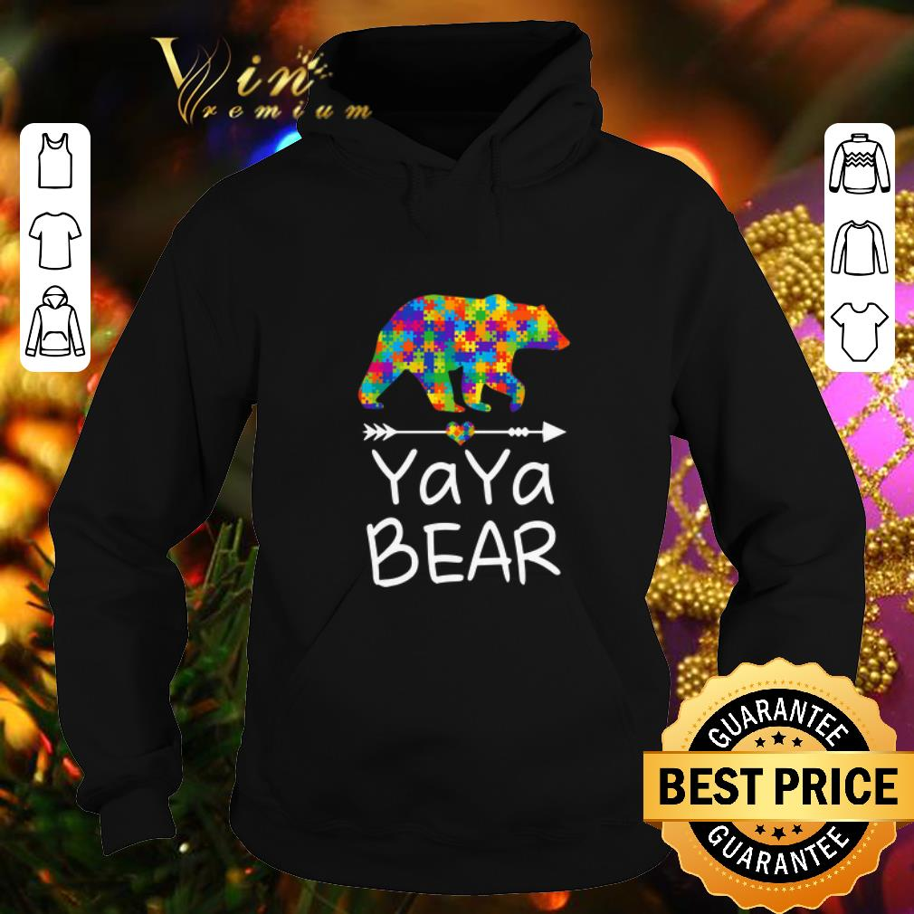 YaYa Bear Autism Awareness shirt