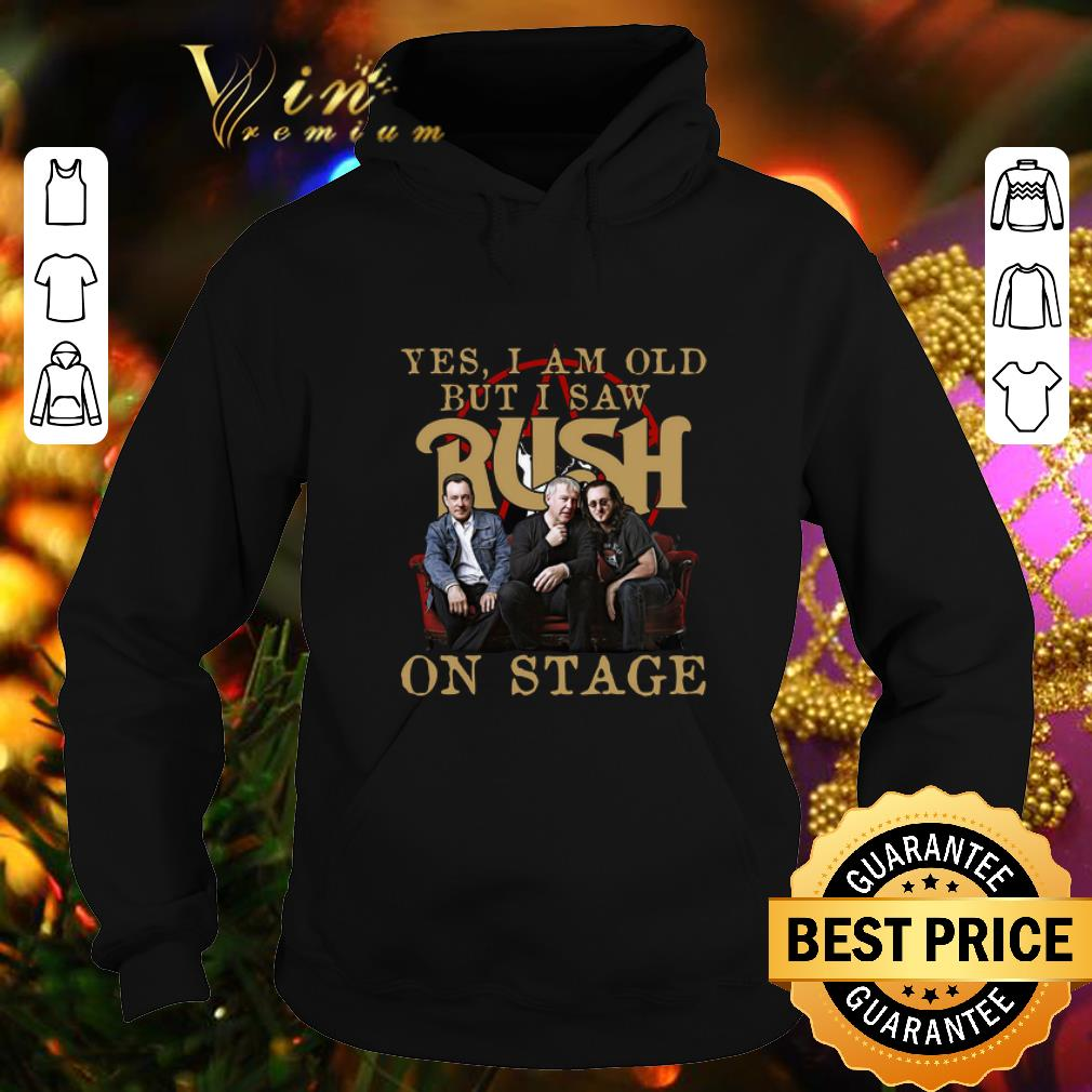 Yes i am old but i saw Rush band on stage shirt
