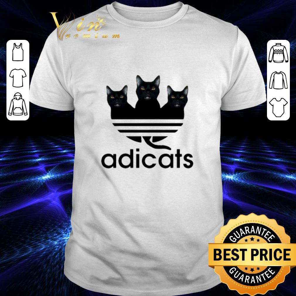 - Black Cats Adidas Adicats shirt