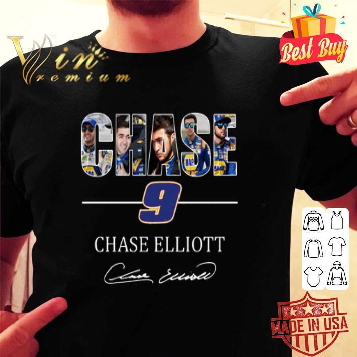 Chase 9 Chase Elliott Champions Victory Signature shirt