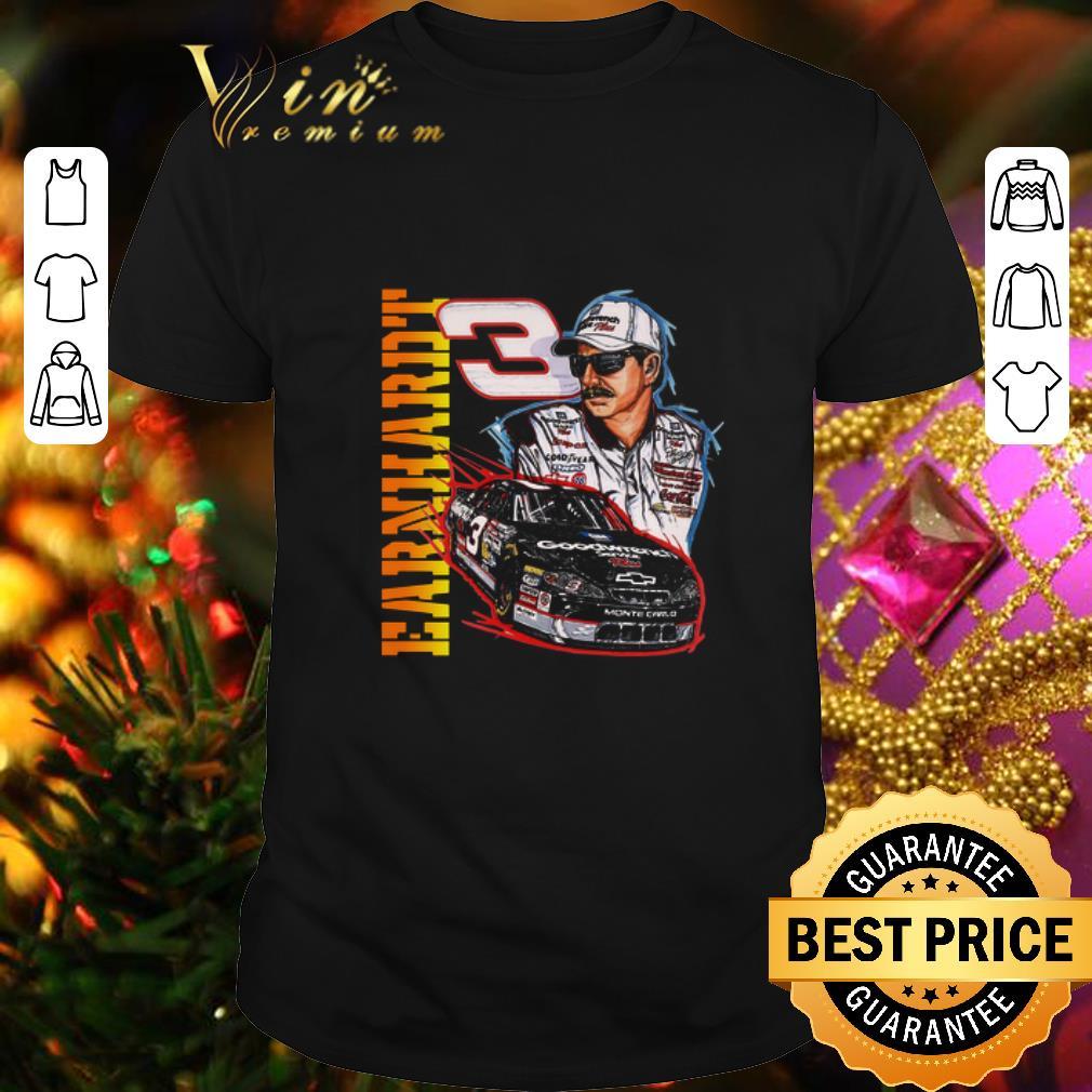 - Earnhardt 3 Goodwrench Car Signature shirt